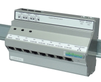 DIN rail ethernet switch